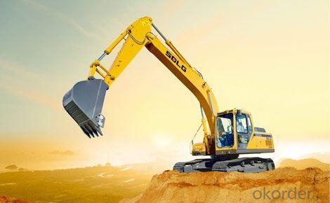 SDLG Brand Crawler Type Hydraulic Excavator LG6210E