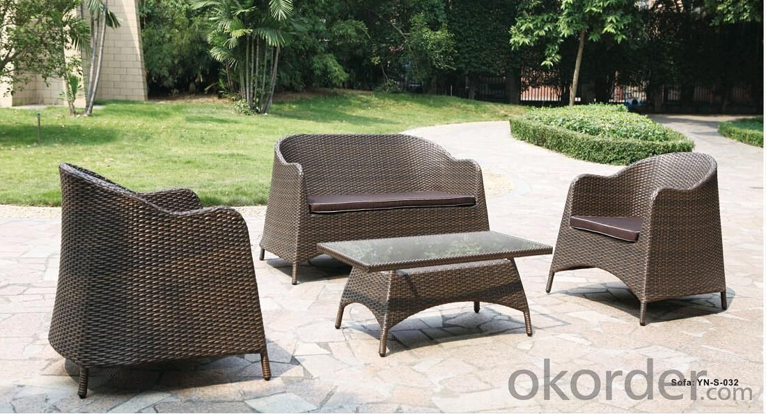 Outdoor Furniture  Design Rattan Sofa Wicker Garden Sofa Sets