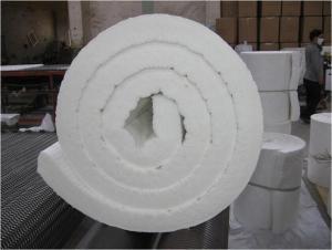 1260C Low Thermal Conductivity Ceramic Fiber Blanket for High Temperature Kiln