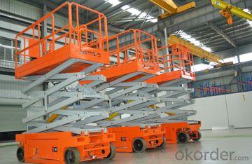 Mobile Hydraulic Self-propelled Scissor Lift Platform