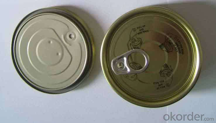 Tin Can Easy Open Ends, Hot Sale Round Full Open