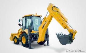 SDLG Brand 0.8-1.2m3 Bucket Capacity Backhoe Loader B877