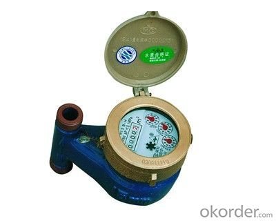 Water Meter with Single Jet Vane Wheel Dry Dial