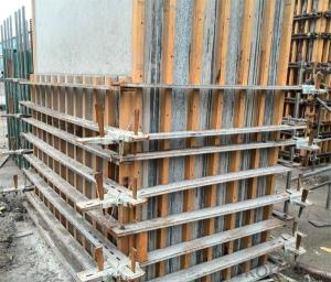adjustable column formwork  lightweight plywood with adjustable clamp repeat and easy handle