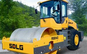 SDLG Brand Single Drum Vibratory Road Roller RS8140