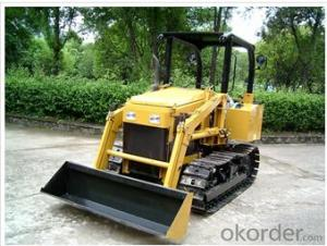 Mini Bulldozer with 4 in 1 front end dozer