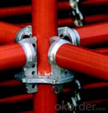 Ring Lock Scaffolding with High Structure Rigidity and Reliable