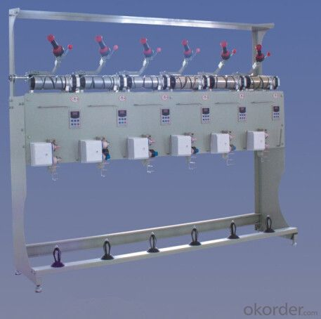 Semi-automatic Textile Rewinder for Rewinding Yarn
