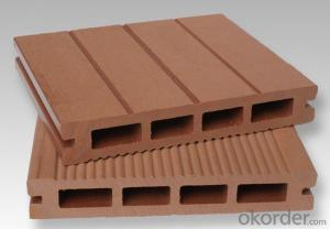 Hot Sale!Anti-Fungal WPC Decking Passed CE, Germany Standard, ISO9001