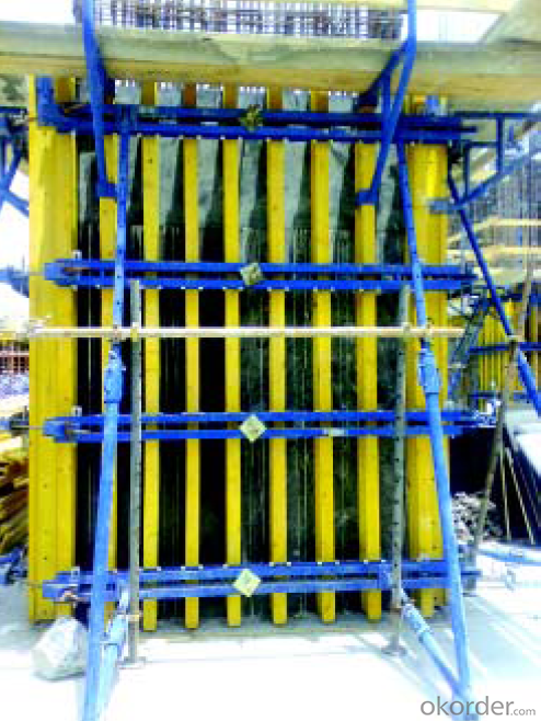 Timer Beam Formwork of Labor and Force Saving