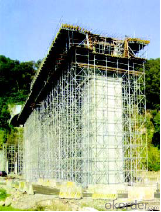 Ring Lock  Scaffolding for Repairing Large-Scale Construction
