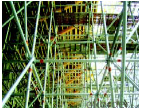 Ring Lock  Scaffolding  of Rational Bearing Load