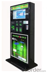 Lockable Cell Phone Charging Kiosk
