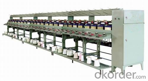Semi-automatic Large Package Winder Machine