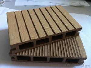 Natural Wood Grain WPC/ Wood Plastic Composited Floor Tile