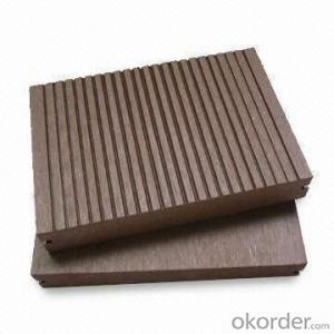 Natural Wood Grain WPC/ Wood Plastic Composited Floor Tile