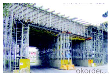Ring Lock  Scaffolding of Easy Storage and Transportation