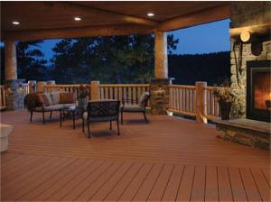 Cheap composite decking FROM China with CE passed