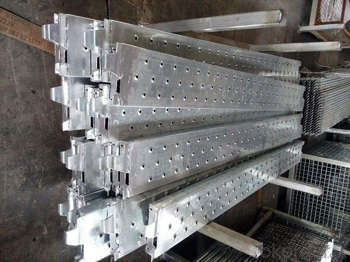 Galvanized Steel Plank for Cuplock Scaffolding System