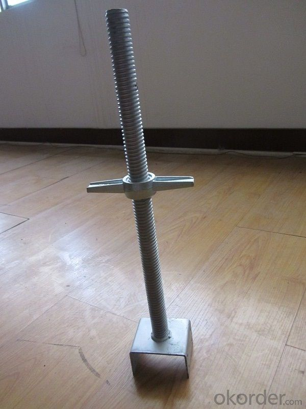 Adjustable Hollow Screw Jack with U Head