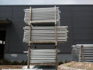 Galvanized Ringlock System Scaffolding Ledger