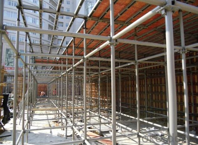 Ring-lock Scaffolding,Good Bearing Capacity