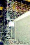 Ring Lock  Scaffolding with Flexible Structure
