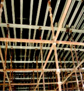 Cup Lock Scaffolding with Reliable Bending and Shearing