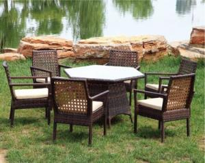 Wicker Outdoor Hot Sale Rattan Sofa Set Patio  Furniture
