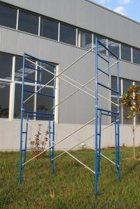 Powder Coated Manson  Frame Scaffolding for Constrcution