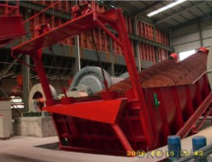 Spiral classifier used on mining and cement plants