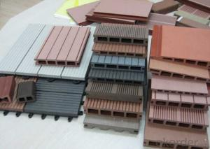 High Quality Hot Sale WPC Outdoor Hollow Decking
