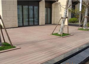 Factory Price Fire-Resistant Solid Wood Plastic Composite WPC Decking