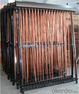 Solar Collector with U Type Heat Pipe Model SC-U