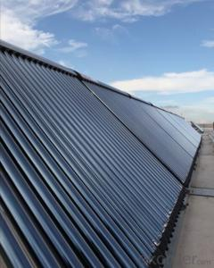 Solar Project No-pressurized Solar Collector Model SC-V