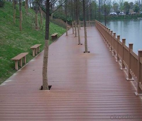 Hot! High Quality Engineered WPC Composite Decking