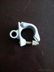 Steel Galvanized Forged  Scaffolding  Coupler with Welded Tube