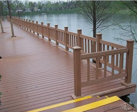 WPC Decking Clips No Smell Fading and Bending Price WPC Flooring