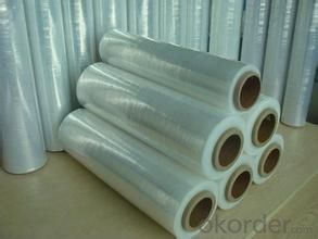 Stretch Wrap Film Factory Wholesale Jumbo roll Plastic Film with Customized Size