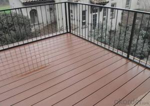 Waterproof Outdoor Flooring WPC Decking