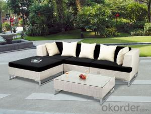 Hot Sale Rattan Sofa Set Patio Wicker Outdoor Hotel Furniture
