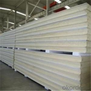Fireproofing Rockwool Roof Sandwich Panel with Low Price