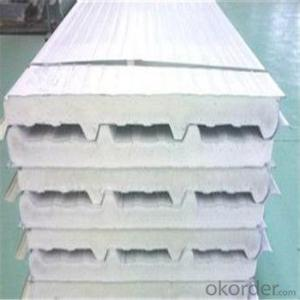 Sandwich Panel Wall with Rockwool Core Material