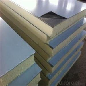 Rockwool Sandwich Panel with Color Steel Sheet for Wall and Roof High Fireproof