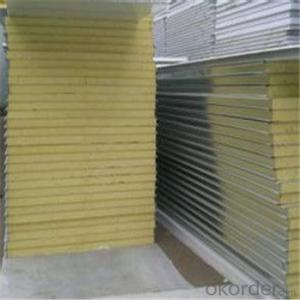 Rockwool Sandwich Panel with 980mm 960mm/EPS Sandwich Panel