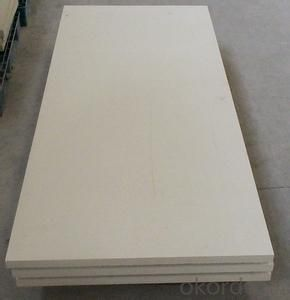1800C industrial furnace high temperature ceramic fiber board for hot sell