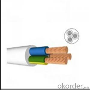 Multi Core PVC Insulated and PVC sheathed Flexible Cable H03VV-F