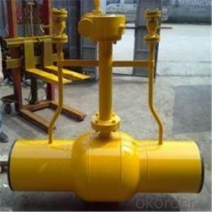 Ball Valve For Heating SupplyDN  100 mm high-performance