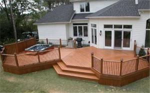 Garden decking, wpc cladding, wpc flooring