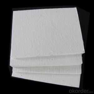 High compression strength Insulation Ceramic Fiber Board